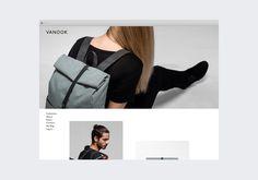 Vanook Online Store Branding, Information Architecture, User Interface Design, Development