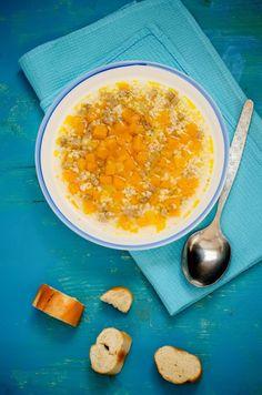 Špaldová polievka s mrkvou