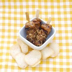 Minisateetjes voor de kinderen! http://dekinderkookshop.nl/recipe-items/sateetjes-met-pindasaus/