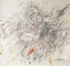 Cy Twombly :: Leda and the Swan :: 1962
