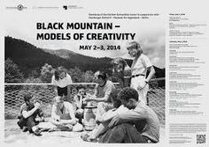 Black Mountain – Models of Creativity: Workshop of the Dahlem Humanities Center in cooperation with Hamburger Bahnhof – Museum für Gegenwart – Berlin