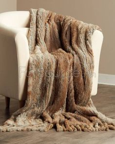 Rabbit fur yarn is $75 a skein, but I SO want to try making this