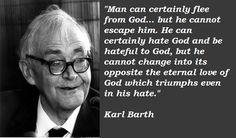 Karl Barth.