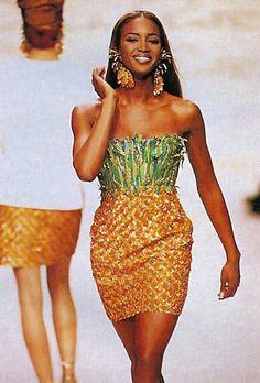 Naomi Campbell at Oscar De La Renta SS1991