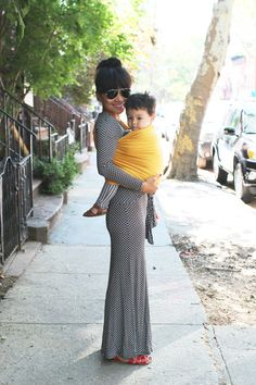 The Sling Diaries// Diane on Ambition, baby wearing, modern mother, baby carrier