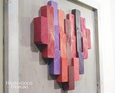 DIY Wooden Heart Decor - End Grain Wood Heart