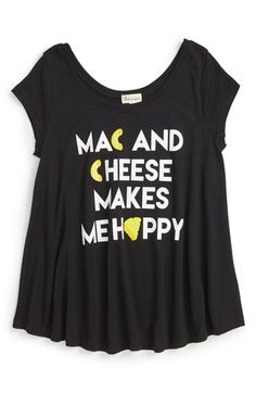 Ten Sixty Sherman 'Mac and Cheese' Top (Big Girls) available at #Nordstrom
