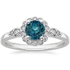 18K+White+Gold+Sapphire+Camillia+Diamond+Ring+(1/4+ct.+tw.)+from+Brilliant+Earth