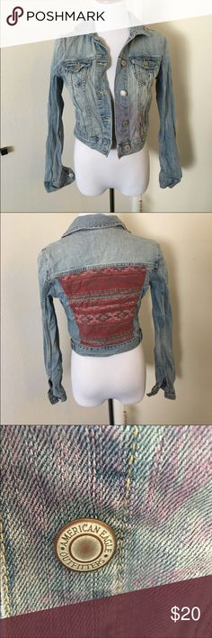 American Eagle Outfitters jean Jacket American Eagle Outfitters jean Jacket American Eagle Outfitters Jackets & Coats Jean Jackets