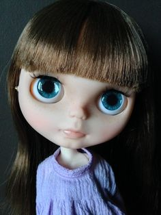 Beautiful OOAK custom Blythe doll  Emma by KittyCatCustoms on Etsy