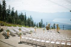 Lake Tahoe wedding ceremony at Heavenly Ski Resort from Corey Fox Photography