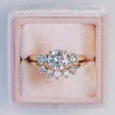 Unique engagement ring,diamond engagement ring
