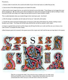 This is a FREE handout on Illuminated letters from the Incredible Art website. Scroll down once you are on the site.