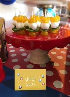 """Ball Party Event Menu 
