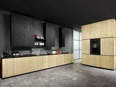 Cucina componibile in legno NATURAL SKIN HOME by Minacciolo design Silvio Stefani, R