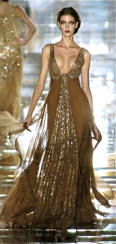(Elie Saab) love it but would want a bit more modesty!