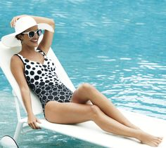 Miraclesuit for Chico's Social Circles Sanibel One Piece Swimsuit #chicos #swim