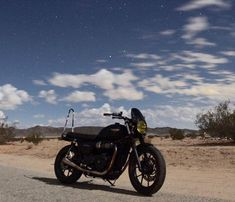 The vastness above reminds us how small our troubles really are. It's a cosmic reminder to keep life simple. Credit: Triumph Street Twin featuring the Midnight Tint Classic Flyscreen! SHOP LINK IN BIO Triumph Street Twin, Keep Life Simple, Triumph Bonneville, Triumph Motorcycles, Cosmic, Twins, Vintage, Instagram, Shop