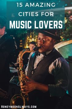 If you love live music or American music history then why not make your passion part of your travels. Here are destinations in the USA where music lovers can experience live music of many genres, visit museums dedicated to music or step into historical sites made famous by the music legends who called them home. #jazz #music #travel Honduras Travel, Jamaica Travel, Belize Travel, Honeymoon Planning, Honeymoon Destinations, Honeymoon Ideas, Jazz Music, Live Music, Travel Tips