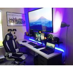 "1,004 Likes, 7 Comments - Mal - PC Builds and Setups (@pcgaminghub) on Instagram: ""Do you think bigger is always better when it comes to TV's? Let me know below! By: u/jordant1009.…"""