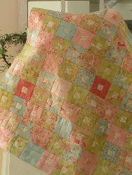 Square in a Square Quilt | FaveQuilts.com