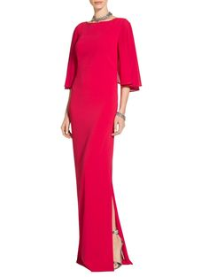 Classic Stretch Cady Gown