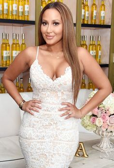 Adrienne Bailon revealed how much weight she's lost ahead of her wedding to fiance Israel Houghton — find out more