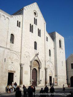 Basilica of Saint Nicholas in Bari in Italy