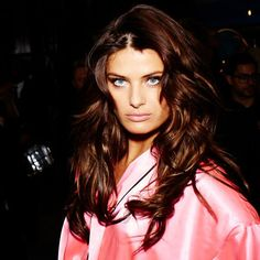 ISABELI FONTANA #hair #makeup #beauty #2012