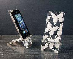 Mariposas iPhone 5 o iPhone 4 de acrílico del por telefono PhoneTastique