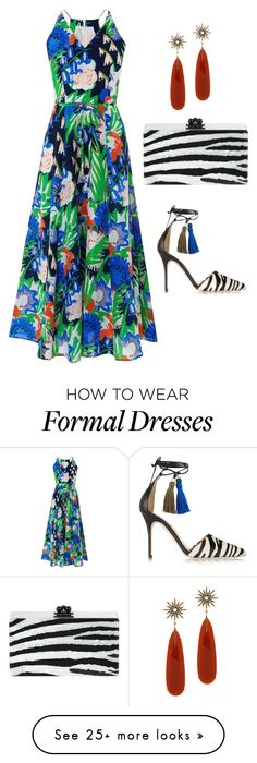 """Summer Formal"" by easy-dressing on Polyvore featuring L.K.Bennett, J.Crew, Christina Debs and Edie Parker"