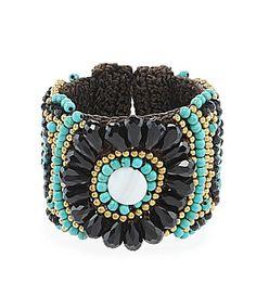Panacea Bracelet Beaded Rope Cuff #Dillards