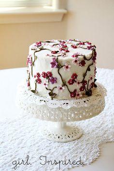 Secret Garden Cake