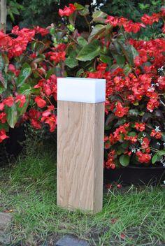 drewniana lampa ogrodowa, oświetlenie ogrodowe, 44 - Przemyslaw653 - Oświetlenie zewnętrzne