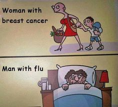 :-) ~ breast cancer humor