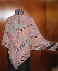 Ravelry: Show Your Colors Shawl pattern by Amy King