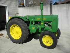 Shown is a 1948 John Deere model D tractor. Has electric start, lights, lots of new sheet metal, new carburetor and much more . Runs great. Front tires are almost new. Back tires are 50%. I'm asking $5500 or best offer. You can contact me at 417-598-0785