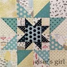 elsie's girl: dots and low volume: stars for a block lottery xx