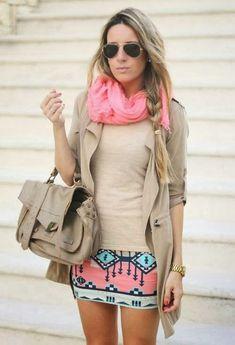Inspiring Ways to Wear Blazer with Mini Skirt