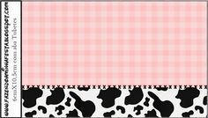 Cowgirl Party: Free Printable Candy Bar Labels.