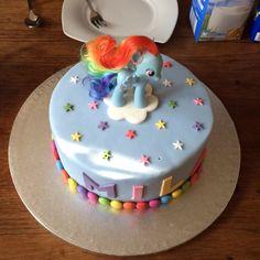 My little Pony Torte Rainbow Dash cake