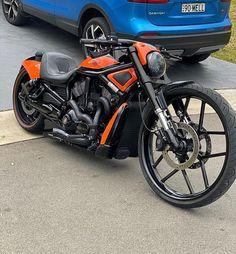 Harley Davidson V Rod, Sport Bikes, Custom Bikes, Orange Crush, Cars, Vehicles, Nice, Instagram, Sportbikes