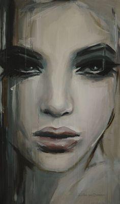 "Hesther Van Doornum; Painting, ""See beneath your beautiful"""