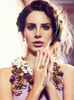 Lana Del Rey by Nicole Bentley, styled by Christine Centenera for vogue australia