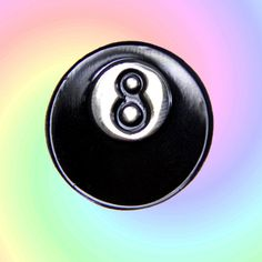 Hey, I found this really awesome Etsy listing at https://www.etsy.com/listing/268662563/eight-ball-pin-lapel-pin-eight-ball