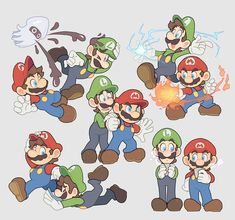 Super Mario And Luigi, Super Mario Art, Super Mario World, Mario Fan Art, The Sims, Sims 4, Mario Brothers, Mario Bros, Shigeru Miyamoto