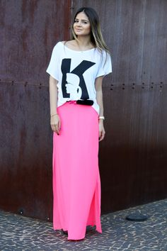 Pink Skirt - Thassia Naves