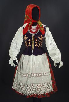 Polish Folk Costumes- inspiration for Fair costume/costume prior to becoming a priest