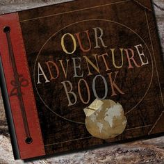 Our Adventure Book by AlbumOptions: The exact same album that we created for the real production crew for the movie Up! #Album #Adventure_Book #Up ,