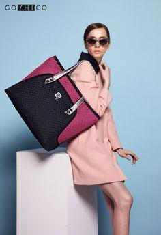 http://goshico.com/en/a-big-shoulder-bag-with-waterproof-material-flowerbag-claret-black-material.html PRICE: 98.04 €
